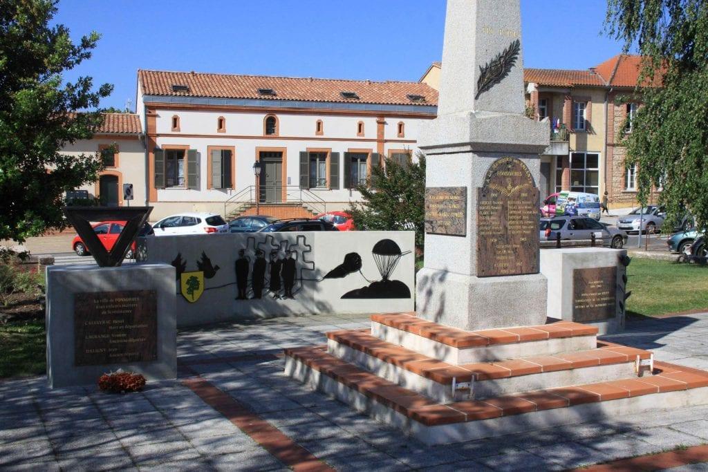 Mémorial dédié aux victimes des guerres