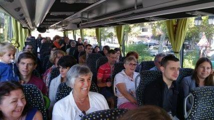 Visite guidée de Fonsorbes en bus matinée des nvx Fonsorbais