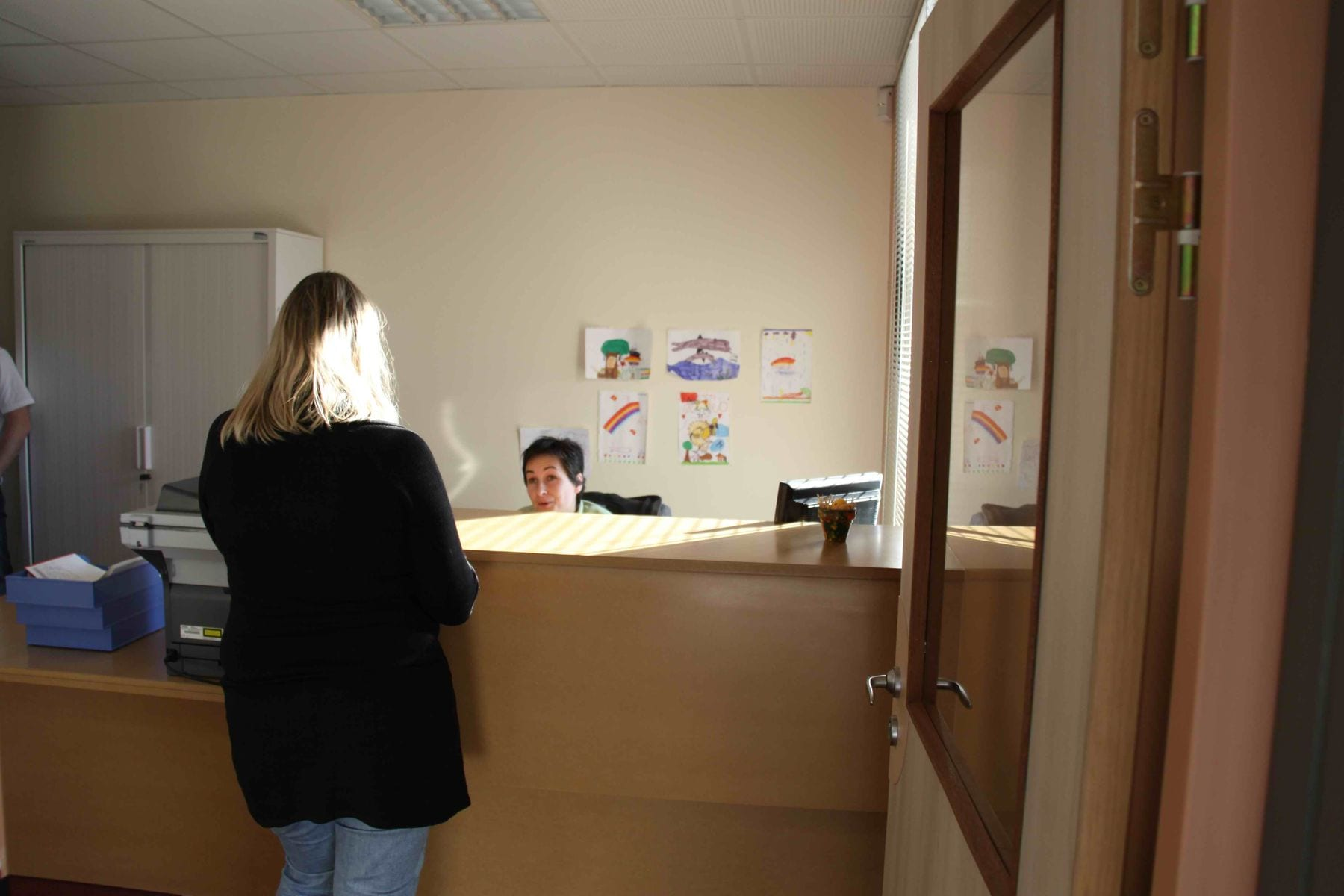 Accueil du centre médico social