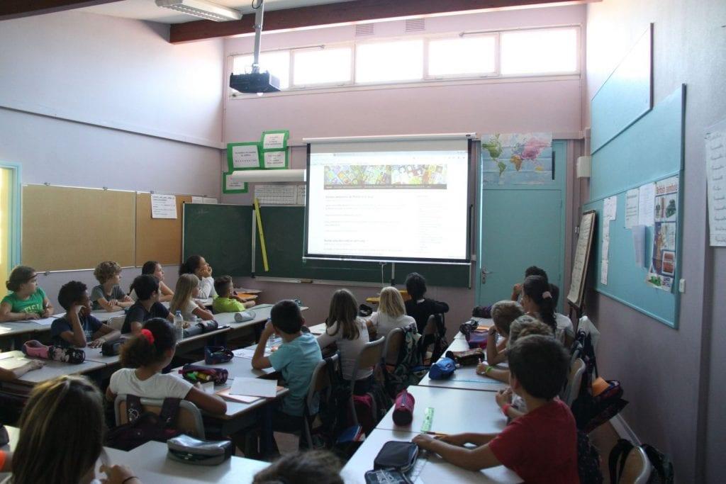 Salle de classe école Trépadé